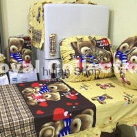 Jual Sale Promo Kitchenset / Set Taplak meja makan / Homeset Teddy Bear Lov Murah
