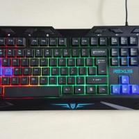 Termurah Rexus Warfaction VR1 Keyboard-Mouse-Mousepad Gaming Kit Combo