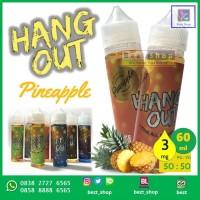 Jual HANGOUT PINEAPPLE | Nanas | 60 ml 3 mg | VAPE Liquid Malaysia Murah