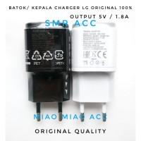 Jual USB Adapter Batok Kepala Charger LG G2 G3 G4 G5 Stylush Magna 1.8A Uni Murah