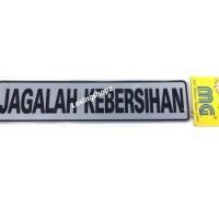 Sticker JAGALAH KEBERSIHAN