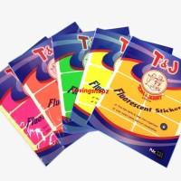 Label Tom & Jerry No.121 warna