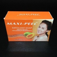 Sabun Maxi Peel Exfoliant Soap with Papaya Enzymes 125gr