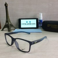 Jual (Frame+Lensa) Frame Kacamata Nike Sport Simple | Kacamata Murah | Gaya Murah