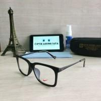 Jual PROMO==(Frame+Lensa) Frame Kacamata Nike Sport Doff 100% High Quality Murah
