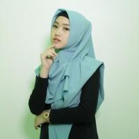 Hijab Segi Empat Kerudung / Jilbab Zara Hijab Segi Empat