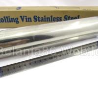 Jual (Diskon) Rolling Pin Stainless 25 - Pemegang Bergerak Murah