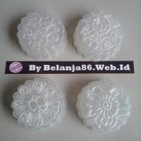 Jual (Dijamin) 4pcs cetakan kue bulan jelly / puding / agar Murah