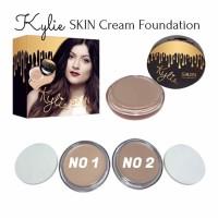 Jual KYLIE SKIN - Cream Foundation Compact / Concealer / Countour + Sponge Murah