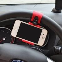 Jual Lazypod Setir Mobil Car Steering Mount Holder Murah
