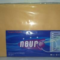 Jual terbatas Neuro Amplop Coklat 1/2 Folio Murah