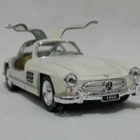Jual Miniatur Mercedes Benz 300 SL Coupe 1954 White Murah