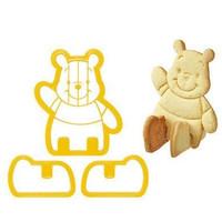 Jual cetakan kue biskuit bentuk winnie the pooh mickey mouse lucu - HKN195 Murah