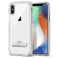 ORIGINAL SPIGEN ULTRA HYBRID S CASING APPLE IPHONE - X - CRYSTAL CLEAR