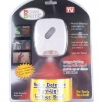 Jual Motion Activated Toilet Lamp Bowl Brite Smart Led Light Sensor Gerak Murah