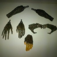 Jual Part Hot Toys Groot Guardian Of The Galaxy Marvel HT HAND (KW) 1/6 Murah