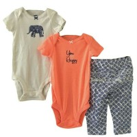 Jual CARTERS 3 IN 1 JUMPER PANTS YOU MAKE ME HAPPY ELLY Murah