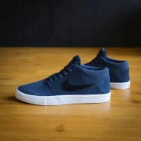 Nike SB Portmore II Mid Solarsoft Thunder Blue/Black/Summit