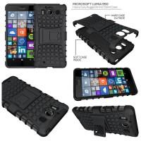Jual (Sale) Microsoft Lumia 950 - Heavy Duty Rugged Armor Stand Case Murah