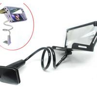 Jual (Dijamin) Kaca Pembesar Layar 3D Smartphone dengan Lazypod Murah