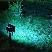Jual Lampu Sorot Taman Tenaga Matahari Outdoor Sensor Cahaya LED 5050 Murah