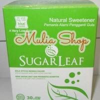 Jual Sugarleaf Natural Sweetener Sachet - Gula Sehat dari Daun Stevia Murah