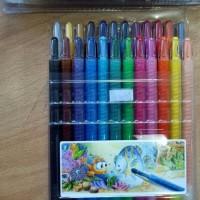 Jual GROSIR!!! Twist Crayon Titi/Crayon Titi Puter/Krayon Titi Puter isi 24 Murah