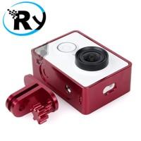 Jual TMC Aluminium Side Frame for Xiaomi Yi Action Camera - HR285 - Silver Murah