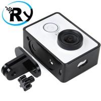 Jual TMC Aluminium Side Frame for Xiaomi Yi Action Camera - HR285 - Black Murah