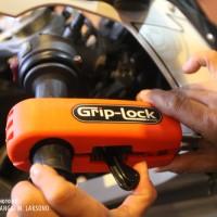 Jual GRIP LOCK KUNCI STANG MOTOR ANTI MALING MUDAH DAN SAFETY Murah