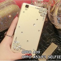 CASING HP OPPO A39, A53/F1 SELFIE EXPERT BEAUTIFUL DIAMOND RHINESTONES