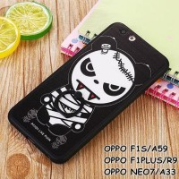 CASING HP OPPO F1S/A59, F1 PLUS/R9, NEO 7/A33 PANDA MUMMY LIKE PUNK