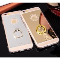 CASING HP IPHONE 5 5S SE, 6 6S, 6+ 6S+ NEW LUXURY MIRROR SILIKON WITH