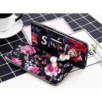 CASING HP VIVO V3, V5/V5S/Y67, V5 PLUS/X9 LUXURY LOVELY FLOWER WITH