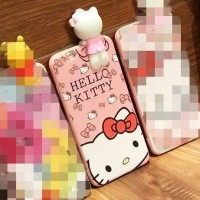CASING HP OPPO F3, F1S/A59, A39/A57, F3 PLUS HELLO KITTY WITH 3D
