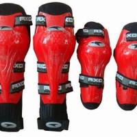 Jual Decker AXO warna MERAH - Pelindung Siku dan Lutut ORIGINAL Murah