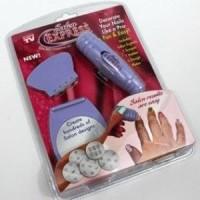 Jual promo Salon Express As Seen On TV Nail Art Stamping Kit Murah
