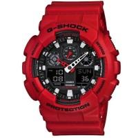 Casio G-Shock GA-100B-4ADR / GShock GA100B-4A Original & Bergaransi