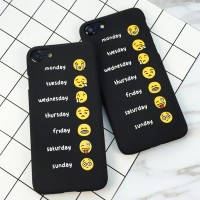 Silicon Casing Softcase Hard emoji Oppo mirror 5 & mirror 3