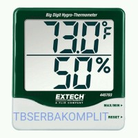 Extech 445703 Big Digit Hygro-Thermometer 1 in Digits o Murah