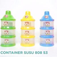 BABY LITTLE BABY KONTAINER SUSU BUBUK 3 SUSUN BESAR / TEMPAT SUSU BUBU