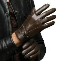 Jual Sarung Tangan Kulit Brown cubit Murah