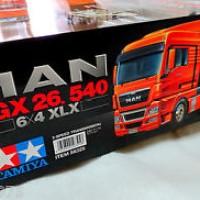 Tamiya # 56325 1/14 R/C RC MAN TGX 26.540 6X4 XLX Tractor Truck NEW