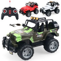 1:18 Remote Control Four-Way RC Off-road Jeep Vehicle Kids Toy Christm