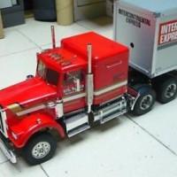 Tamiya # 56301 1:14 R/C KING HAULER TRACTOR TRUCK KIT New In Box