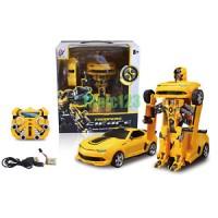 Transformer 2.4G RC Remote Control Deformation Robot Car Bumblebee Rec