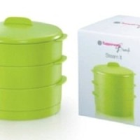 Jual Tupperware - Green Steam It! 3 Susun Murah