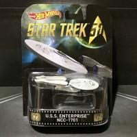 Hot Wheels Star Trek USS Enterprise NCC-1701 Retro Entertainment