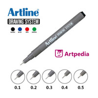 ARTLINE DRAWING SYSTEM/ PEN GAMBAR / DRAWING PEN terlaris dan termurah