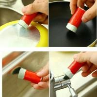 Magic Stick Brush Pembersih Panci Kerak Dapur Serbaguna Karat Gosong
